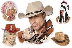 Chapeaux Western : Cowboy-Country-Coiffe Indienne