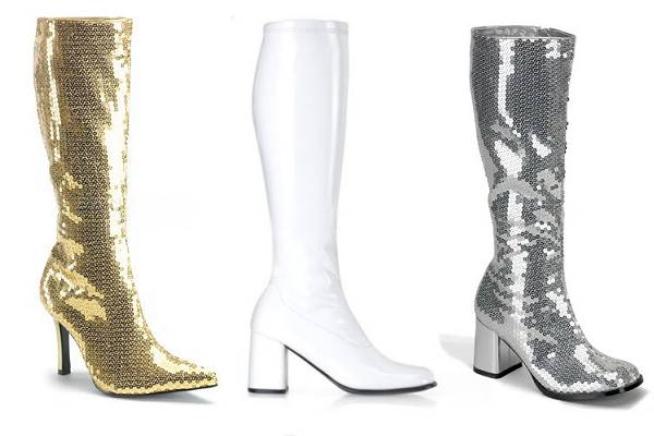 Bottes disco femme