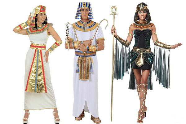 Costumes egyptiens