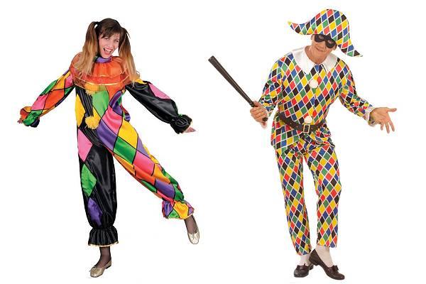 Costume d'Arlequin adulte