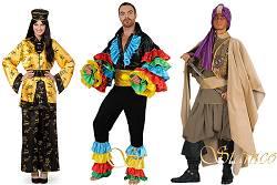 Costumes Espagnol-Tyrolien-Etranger Adultes : Folkloriques-Etrangers-Espagnol-Oriental-Mexicain