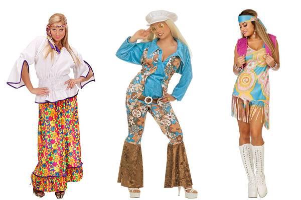 Déguisement de hippie femme