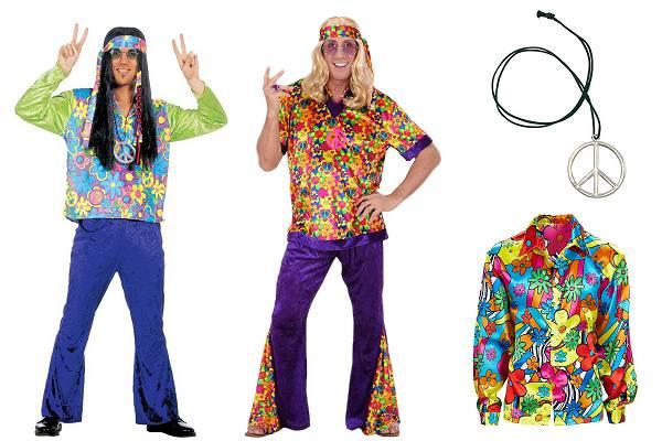Déguisement de hippie homme
