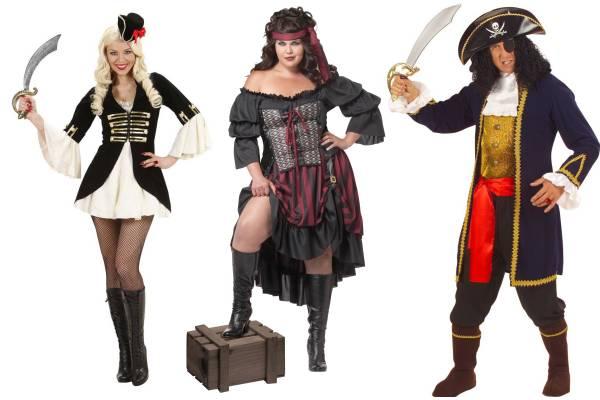 Déguisement de pirate pour femme