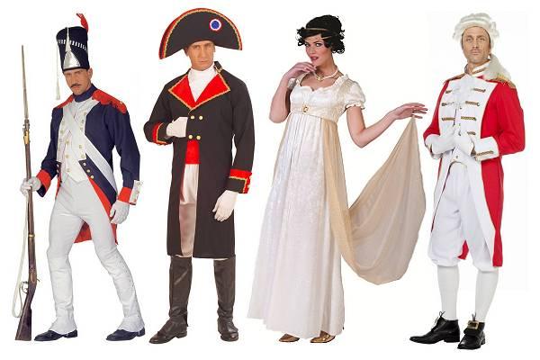 Costume époque Napoléon