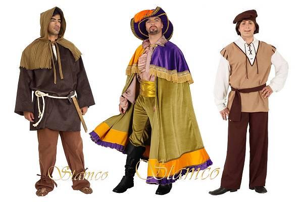 Costume médiéval homme
