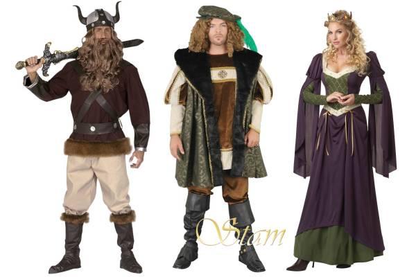 Costume époque médiévale pour adulte
