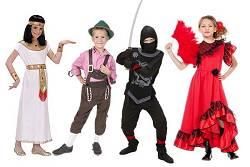 Costumes du monde Enfants : Etranger-Folkloriques-Ninja