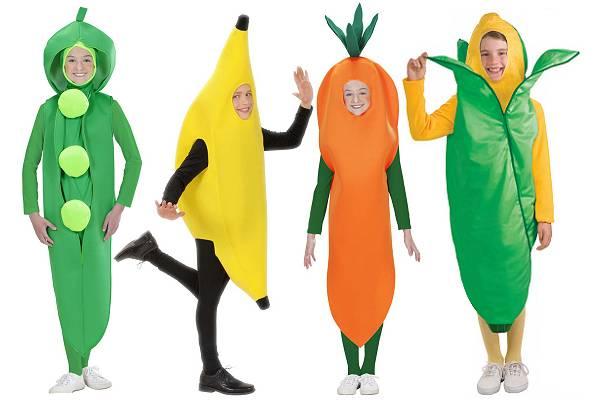 Déguisement fruits et légumes