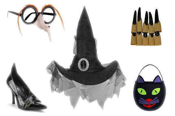Accessoires déguisement sorcière