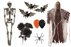 Decoration Halloween : Ballons-Toiles-Araignées-Vampires...