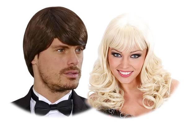 Perruque femme et perruque homme