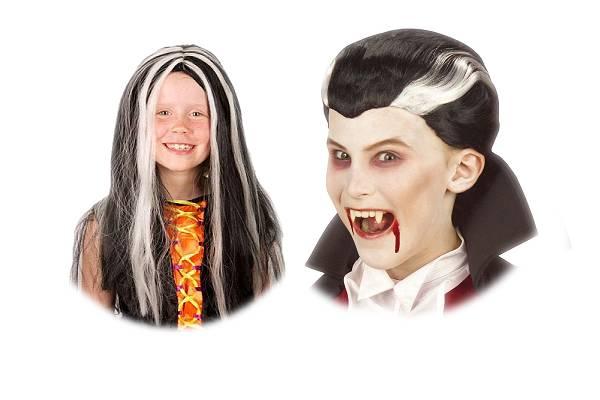 Perruques Halloween pour enfant