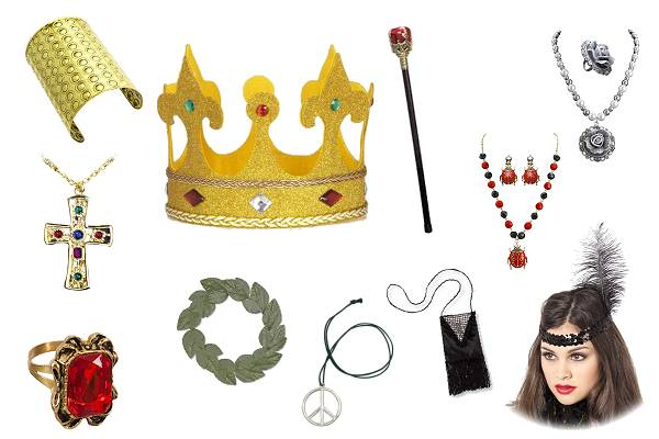 Faux bijoux de déguisement