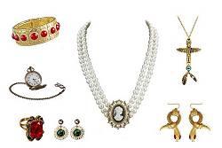 Faux bijoux déguisement