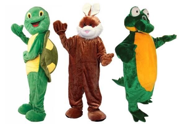 Mascottes animaux
