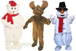Mascottes pour Noel