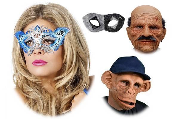 Masques et loups Carnaval