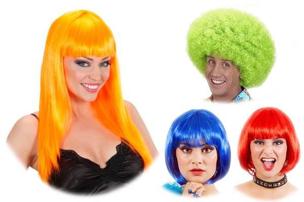 Perruques de couleur