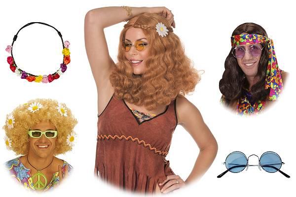 Perruque hippie