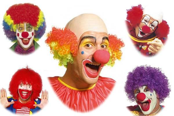 Perruques de clown