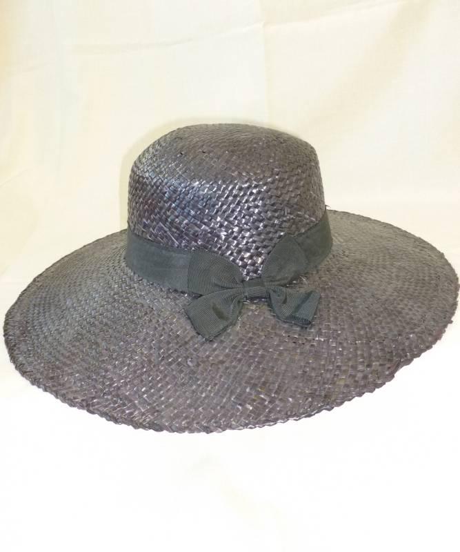 Chapeau-Lot-de-Pailles-noirs