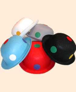 Chapeau-Melon-pois-Modèle-1