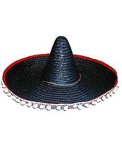 Chapeau-Sombrero-noir-60cm