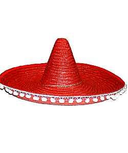 Chapeau-Sombrero-rouge-60cm
