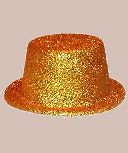 Chapeau-Haut-de-forme-or