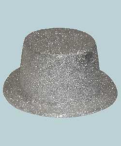 Chapeau-Haut-de-forme-argent