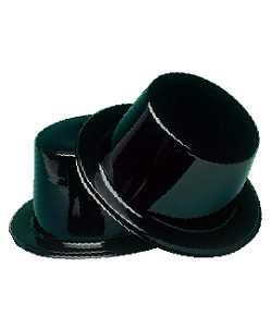 Chapeau-Haut-de-forme-plastique-noir-par-12