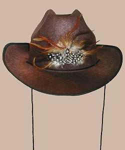 Chapeau-Cow-Boy-luxe-marron-AD