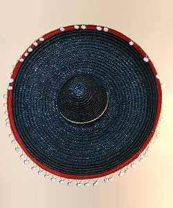 Chapeau-Sombrero-bleu-60cm