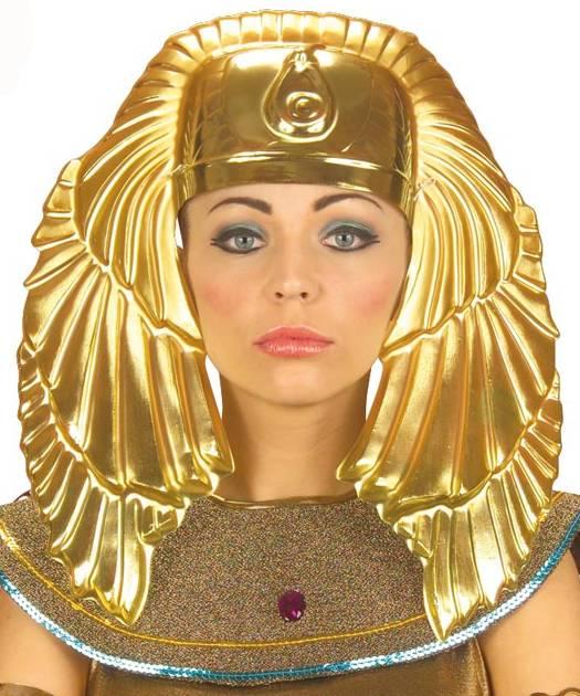 Coiffe-Egyptienne-dorée