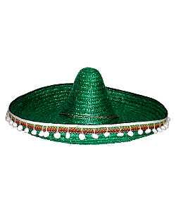 Chapeau-Sombrero-vert-65cm