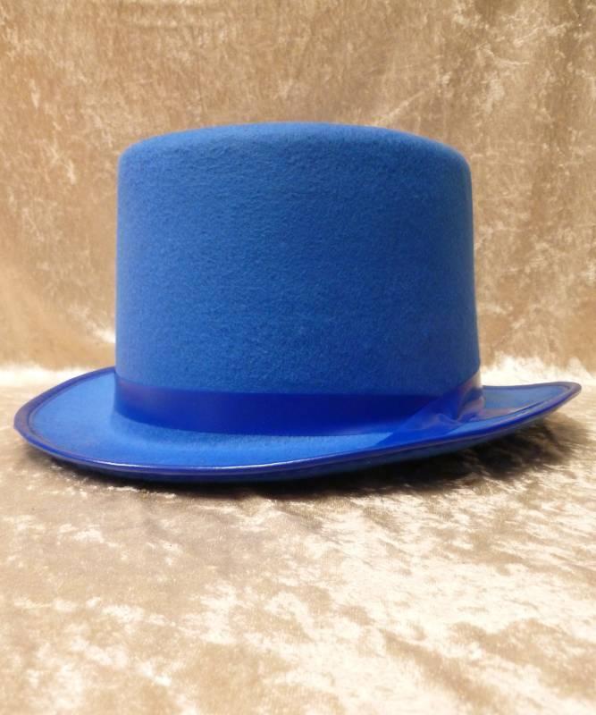 Haut-de-forme-bleu
