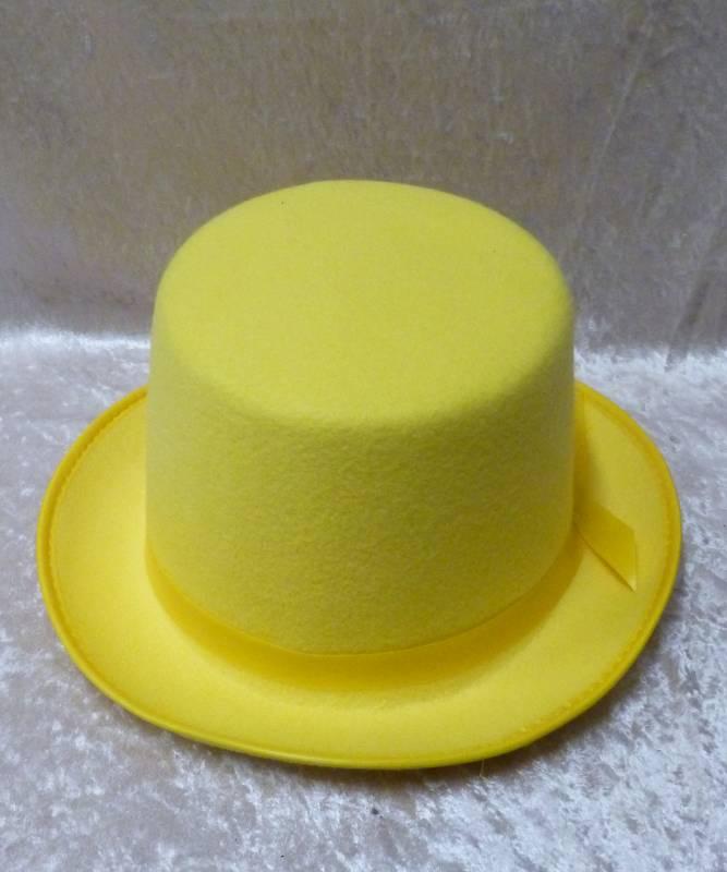 Haut-de-forme-jaune