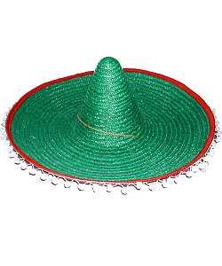 Chapeau-Sombrero-vert-60cm