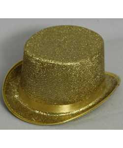 Chapeau-Haut-de-forme-Or-Glitter-2