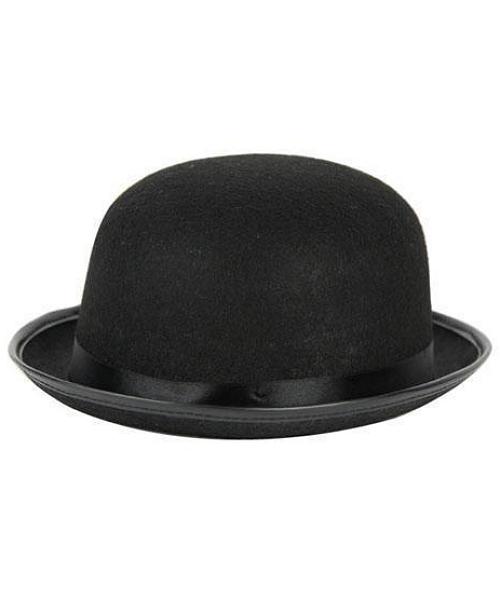 Chapeau-Melon-Feutre-Noir