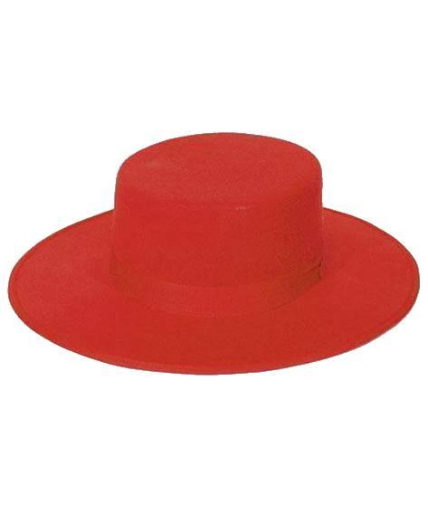 Chapeau-Espagnol-rouge