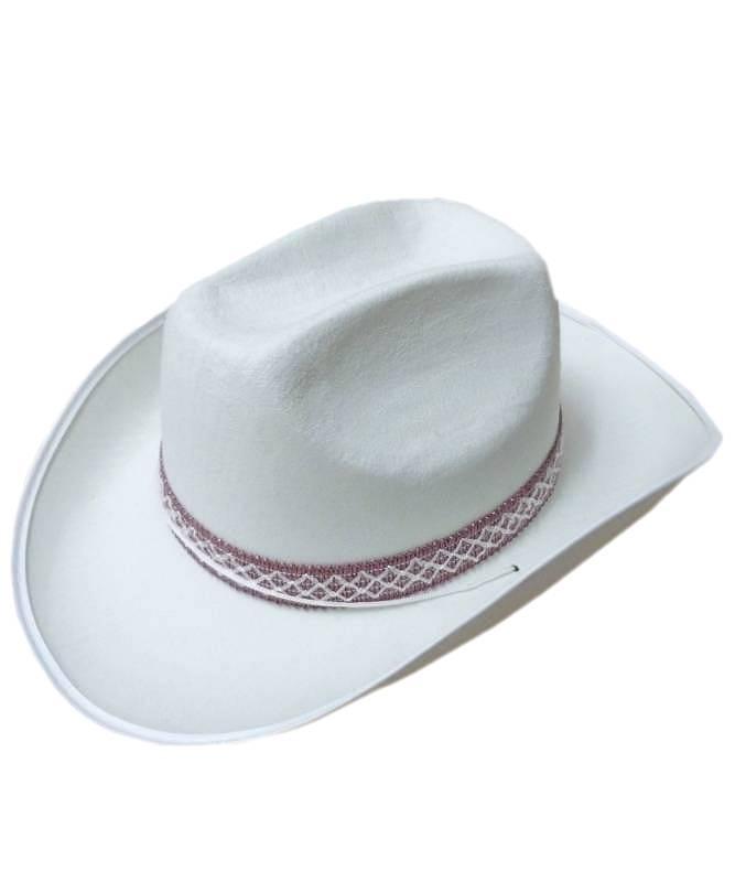 chapeau de cowboy blanc ref ac1272. Black Bedroom Furniture Sets. Home Design Ideas