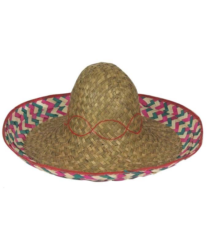 Sombrero-Mexicain-Naturel-52cm