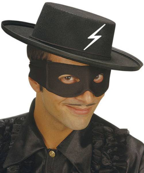 Chapeau de vengeur masqué