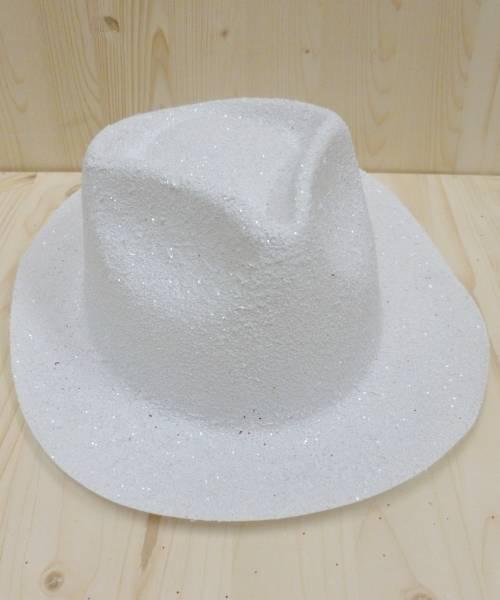 Chapeau-Borsalino-pailleté-blanc