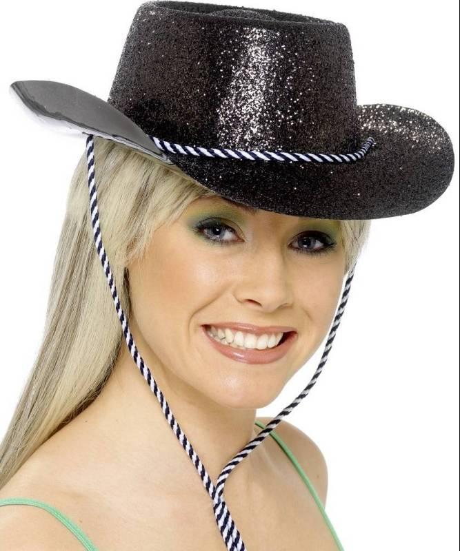 Chapeau-Cow-Boy-Saloon-pailleté-noir