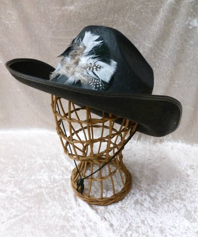 Chapeau-Cow-Boy-Dallas-plumes