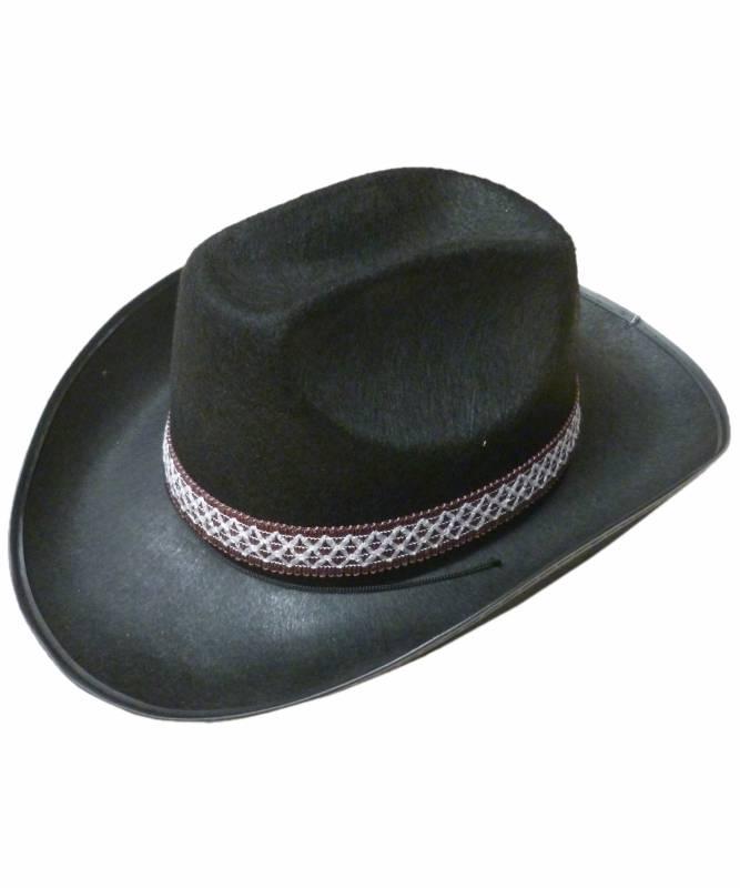 Chapeau-Cowboy-noir-Dallas-ruban