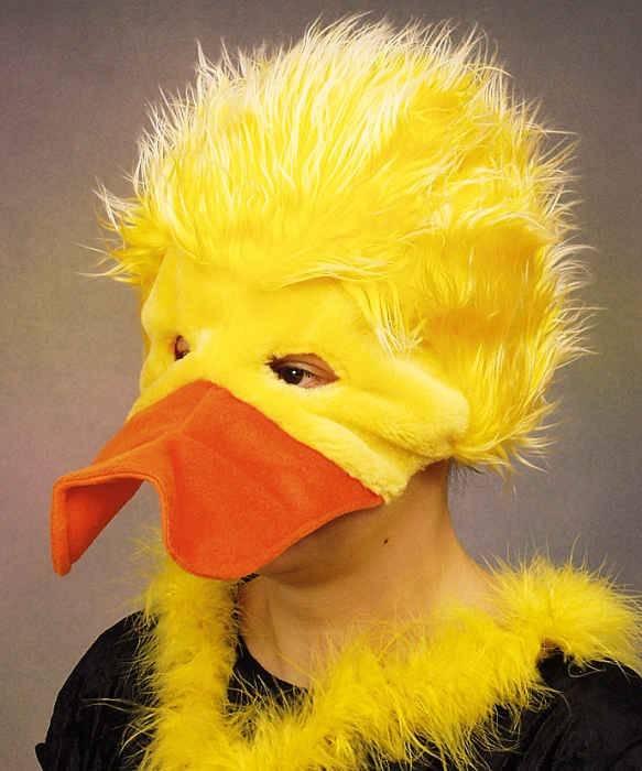 T te de canard ac1491 - Masque canard a imprimer ...